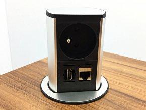 Bachmann Elevator Office 1x230V, 1xHDMI, 1xRJ45