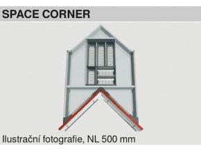 Sada misek BLUM sirka korpusu Space Corner 1