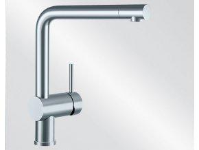 Kuchyňská vodovodní baterie Blanco LINUS nerez imitace beztlaková 514022