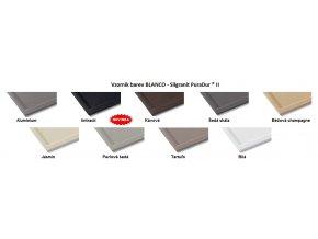 Granitový dřez Blanco CLASSIC 45 S Basic aluminium 517013