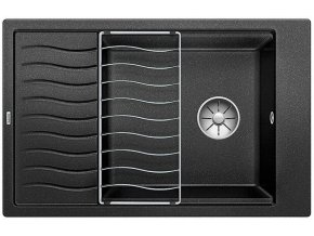 Granitový dřez Blanco ELON XL 6 S InFino antracit + odkapávací rošt nerez 524844