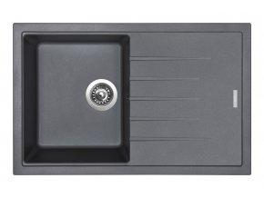 Granitový dřez Sinks BEST 780 Titanium  + Čistič pro granitové dřezy SINKS
