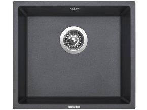 Granitový dřez Sinks FRAME 457 Titanium  + Čistič pro granitové dřezy SINKS