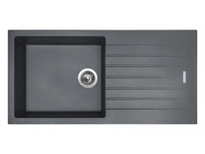 Granitový dřez Sinks PERFECTO 1000 Titanium  + Čistič pro granitové dřezy SINKS