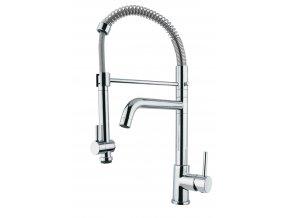 Kuchyňská vodovodní baterie Sinks TINY CHEF PROF S lesklá