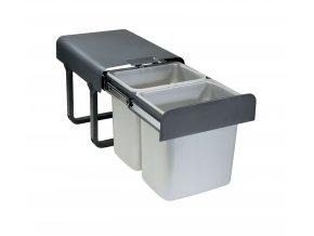 Vestavný odpadkový koš Sinks EKKO 40 2x16l