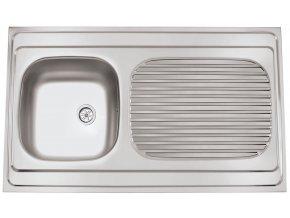 Nerezový dřez Sinks CLP-A 1000 M 0,5mm matný  + Čistící pasta pro nerezové dřezy SINKS