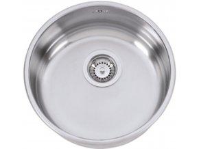 Nerezový dřez Sinks MITHUS 417 V 0,6mm leštěný  + Čistící pasta pro nerezové dřezy SINKS