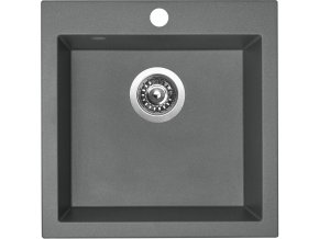 Granitový dřez Sinks VIVA 455 Titanium  + Čistič pro granitové dřezy SINKS