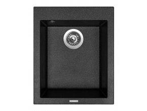 Granitový dřez Sinks CUBE 410 Granblack  + Čistič pro granitové dřezy SINKS