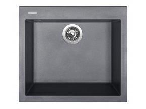 Granitový dřez Sinks CUBE 560 Titanium  + Čistič pro granitové dřezy SINKS