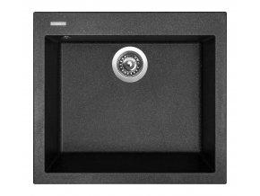 Granitový dřez Sinks CUBE 560 Granblack  + Čistič pro granitové dřezy SINKS