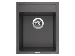 Granitový dřez Sinks CLASSIC 400 Titanium  + Čistič pro granitové dřezy SINKS