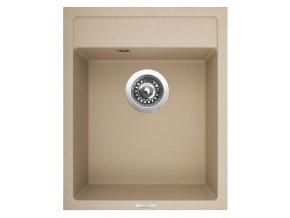 Granitový dřez Sinks CLASSIC 400 Sahara  + Čistič pro granitové dřezy SINKS