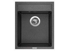 Granitový dřez Sinks CLASSIC 400 Granblack  + Čistič pro granitové dřezy SINKS