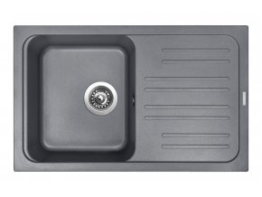 Granitový dřez Sinks CLASSIC 740 Titanium  + 2x Čistič pro granitové dřezy SINKS