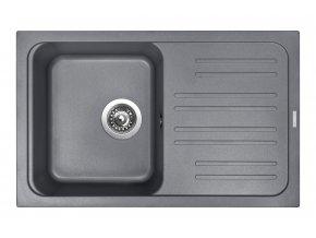 Granitový dřez Sinks CLASSIC 740 Titanium  + Čistič pro granitové dřezy SINKS