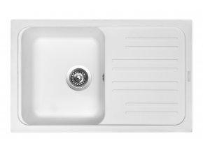 Granitový dřez Sinks CLASSIC 740 Milk  + 2x Čistič pro granitové dřezy SINKS