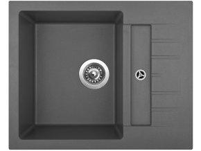 Granitový dřez Sinks CRYSTAL 615 Titanium  + Čistič pro granitové dřezy SINKS