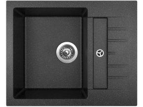 Granitový dřez Sinks CRYSTAL 615 Granblack  + 2x Čistič pro granitové dřezy SINKS