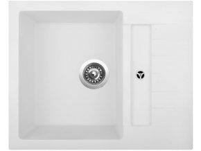 Granitový dřez Sinks CRYSTAL 615 Milk  + 2x Čistič pro granitové dřezy SINKS
