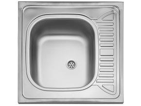 Nerezový dřez Sinks CLP-D 600 M 0,5mm matný  + Čistící pasta pro nerezové dřezy SINKS