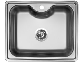Nerezový dřez Sinks BIGGER 600 V 0,8mm matný  + Čistící pasta pro nerezové dřezy SINKS