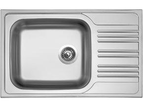 Nerezový dřez Sinks STAR 780 XXL V 0,7mm matný  + Čistící pasta pro nerezové dřezy SINKS