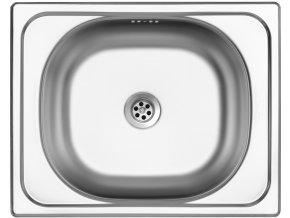 Nerezový dřez Sinks CLASSIC 500 M 0,6mm matný  + Čistící pasta pro nerezové dřezy SINKS