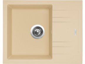 Granitový dřez Sinks LINEA 600 N Sahara  + Čistič pro granitové dřezy SINKS