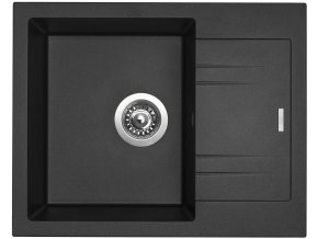 Granitový dřez Sinks LINEA 600 N Metalblack  + 2x Čistič pro granitové dřezy SINKS