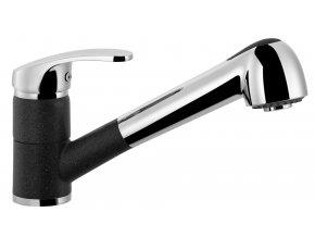 Kuchyňská vodovodní baterie Sinks LEGENDA S - 74 Metalblack