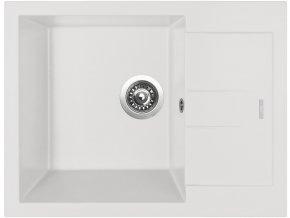 Granitový dřez Sinks AMANDA 650 Milk  + 2x Čistič pro granitové dřezy SINKS