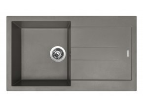 Granitový dřez Sinks AMANDA 860 Truffle  + Čistič pro granitové dřezy SINKS