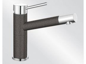 Blanco ALTA Compact Silgranit-look dvoubarevná antracit/chrom