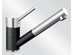 Kuchyňská vodovodní baterie Blanco ANTAS-S Keramika-look černá/chrom lesk 516075