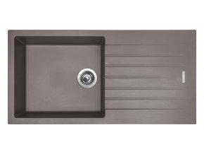 Granitový dřez Sinks PERFECTO 1000 Truffle  + Čistící pasta pro nerezové dřezy SINKS