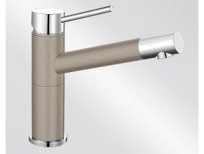 Blanco ALTA Compact Silgranit-look dvoubarevná tartufo/chrom