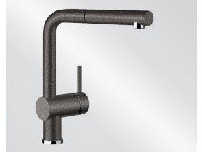 Kuchyňská vodovodní baterie Blanco LINUS-S silgranit černá 526148