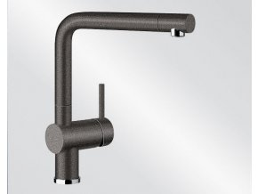 Kuchyňská vodovodní baterie Blanco LINUS silgranit černá 526149