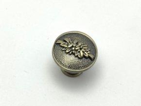 rustikalni nabytkova knopka rosa detail 1