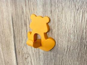detsky nabytkovy vesak zluto-oranzovy detail 2