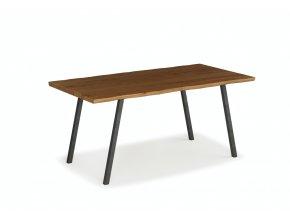 concave jídelní stůl černá