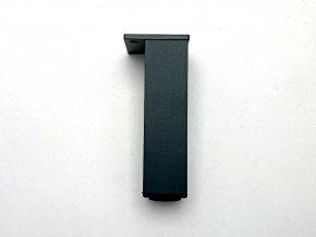 nabytkova nozka 40 x 40 150 mm antracit