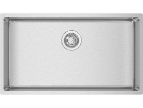 Nerezový dřez Sinks BOX 780 RO  + Čistící pasta pro nerezové dřezy SINKS