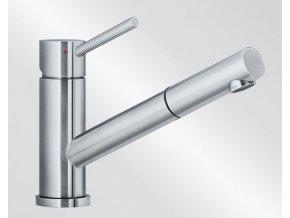 Kuchyňská vodovodní baterie Blanco ALTURA-S Nerez masiv kartáčovaný beztlaková 519726