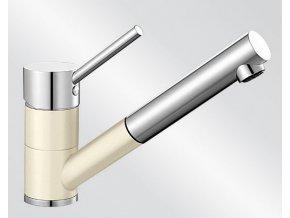 Kuchyňská vodovodní baterie Blanco ANTAS-S Keramika-look magnolie lesklá/chrom 519748
