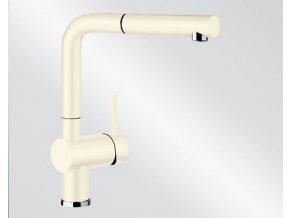 Kuchyňská vodovodní baterie Blanco LINUS-S Keramika-look magnolie lesklá 519750