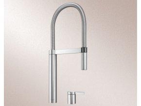 Kuchyňská vodovodní baterie Blanco CULINA-S DUO Nerez masiv matný 519784