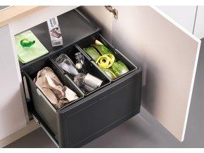 Odpadkový koš Blanco BOTTON Pro 60/3 manuell - ruční výsuv 517469